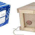 Посылка в деревянном ящике и в гофрокоробе