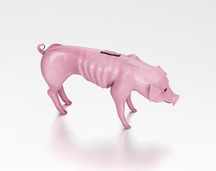 Худая свинья-копилка